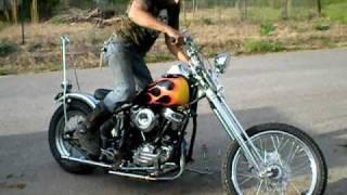 Download 1962 Harley Panhead Chopper Video