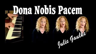 Download Dona Nobis Pacem canon - multitrack by Julie Gaulke Video