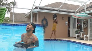 Download ANGRY GIRLFRIEND THROWS PS4 IN THE POOL!!! PRANK GONE WRONG!! Video