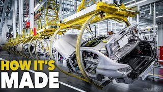 Download BMW 5-Series CAR FACTORY - HOW IT'S MADE - Cina Production Plant Assembly Line Video