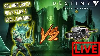 Download Destiny - CROTA VS YEAR 3 GJALLARHORN! (LIVE!) Video
