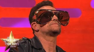 Download Bono Reveals Reason He Always Wears Sunglasses - The Graham Norton Show Video