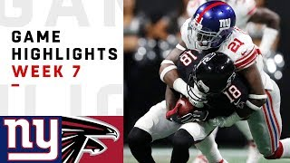 Download Giants vs. Falcons Week 7 Highlights | NFL 2018 Video