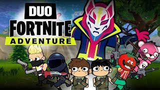 Download DUO FORTNITE ADVENTURE #1 (Animation) Video