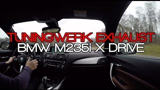 Download BRUTAL BMW M235ix TUNINGWERK ESD EXHAUST SOUND Video