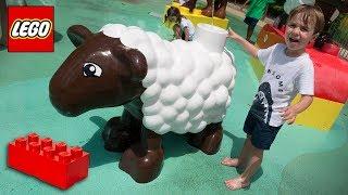 Download LEGO GIGANTE NA LEGOLAND DE ORLANDO!! Familia Brancoala nos Estados Unidos Video