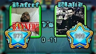 8Ball pool | First person to complete level 999 Walid Damoni