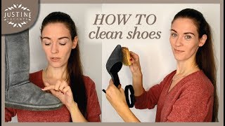 Download How to clean leather shoes, boots, sneakers, white shoes, etc. | Justine Leconte Video