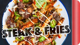 Download DIY Steak & Cheese Fries... Food Truck Style Video