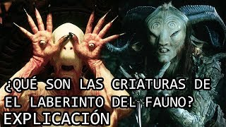 Download ¿Qué son las Criaturas de El Laberinto del Fauno? EXPLICACIÓN | Todas las Criaturas EXPLICADAS Video