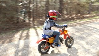 Download Riding dirt bikes and four wheelers! Video