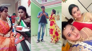 Download Kumkum puvvu serial actress# dubsmash , funny watch& enjoy Video