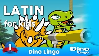 Download Dino Lingo Latin language learning for kids - Latin lessons for children Video