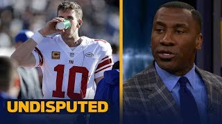 Download Skip and Shannon react to reports that Eli Manning will start Week 14 vs Dallas   UNDISPUTED Video