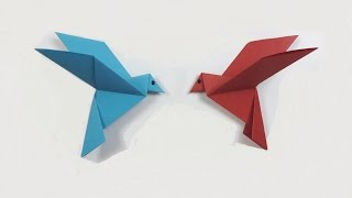 Download How to make a paper Bird? (easy origami) Video