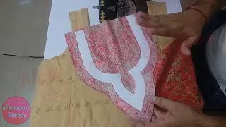 Download पाकिस्तान में बहुत पॉपुलर है ये गले का डिजाइन // Beautiful Neck Design Cutting and Stitching Video