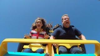 Download Watch Selena Gomez Sing Karaoke While Riding a Roller Coaster Video
