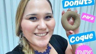 Download DIY: Donuts para Coque com Meia-Calça Video