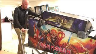 Download SDTM: Unboxing an Iron Maiden Pro pinball machine Video