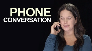 Download English Phone Conversation: How to Start and End Video