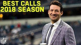 Download Tony Romo's Best Calls of the 2018 Season! Video