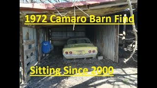 Download Will It Run? 1972 Camaro Barn Find Sitting for 19 Years! Part 1 Video