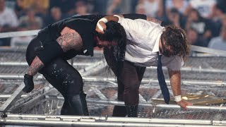 Download The Undertaker throws Mankind off the top of the Hell in a Cell: June 28, 1998 - King of the Ring Video