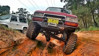 Download Land Cruiser 80 First 4x4 Test On The New Setup - 37inch Treps Video