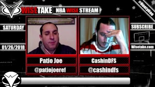 Download NBA FanDuel & DraftKings Podcast - 1/27/18 w/ @PatioJoeRef & @CashinDFS Video