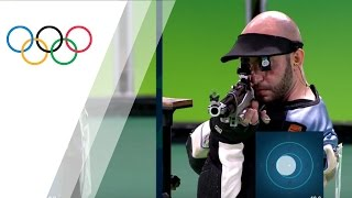 Download Italy's Campriani wins gold in Men's 10m Air Rifle Video
