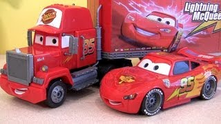 Download Drawing Disney Cars Mack Truck Hauler Klip Kitz Lightning McQueen Awesome Buildable Toys Video