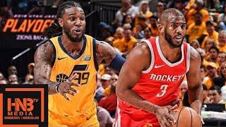 Download Utah Jazz vs Houston Rockets Full Game Highlights / Game 4 / 2018 NBA Playoffs Video