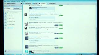 Download Skype 5 ( 5.0 ) OFFICIAL for Windows with Skype Facebook Integration Video