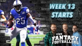 Download Fantasy Football 2016 - Starts of the Week, Week 13 Matchups, Boom-Boom! - Ep. #318 Video