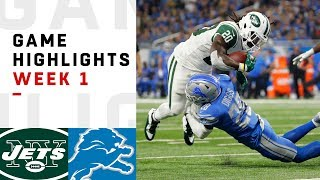 Download Jets vs. Lions Week 1 Highlights | NFL 2018 Video