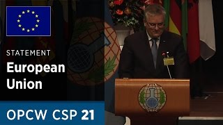 Download Message on behalf of the European Union delivered by Mr Jacek Bylica at CSP21 Video