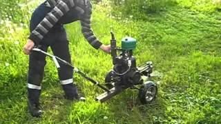 Роторная косилка своими руками- 2  Homemade rotary mower 2  Free