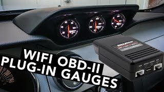 Download Just Released! WiFi Smartphone App Gauges Installed - Mullet Mustang - EP13 Video