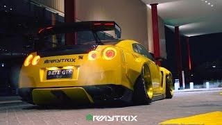 Download RIP...80K Heavy Mods GT-R R35 | ARMYTRIX Titanium Exhaust | Pandem Widebody | Adv.1 Wheels Video