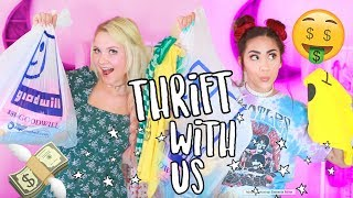 Download Thrift With Us! + Try On Haul! Video