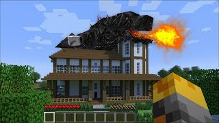 Download GIANT GODZILLA BEASTS APPEARS IN MY HOUSE IN MINECRAFT ! Minecraft Mods Video
