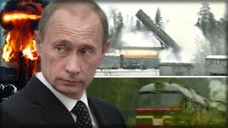 Download RUSSIA UNVEILS THE 'NIGHTMARE' TRAIN: HIGH SPEED STEALTH NUKE LAUNCHER TO TERRIFY NATO Video