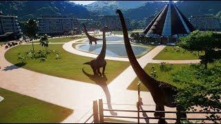 Download Brachiosaurus, Mamenchisaurus, Dreadnoughtus & Indominus Rex Breakout & Fight! (1080p 60FPS) Video