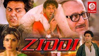 Download Ziddi - Bollywood Action Movies | Sunny Deol, Raveena Tandon | Bollywood Romantic Action Drama Movie Video