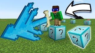 Download LUCKY BLOCK DIAMANT!!! A PICAT DE 2 ORI MAPA!! - Minecraft Lucky Block Race Video
