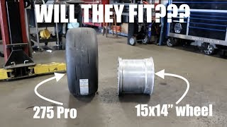 Download Can you put a Pro 275 Drag radial in a 14″ WIDE WHEEL???? Video