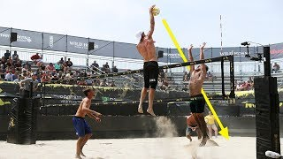 Download TOP 50 Poweful Beach Volleyball Spikes | 2018 FIVB Beach Volleyball World Tour Video