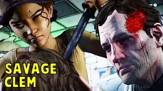 Download Every Human Killed By Clementine - The Walking Dead All Seasons (Telltale) Video