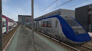 Download NANTES - TOURS en cabine d'une Z21500 ( V200 jusqu'à Angers ) [Open Rails/MSTS] Video