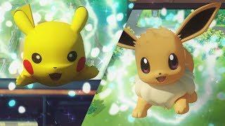 Download Pokémon: Let's Go, Pikachu! and Pokémon: Let's Go, Eevee! Trailer Video